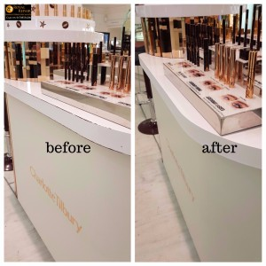 Harrods Counter damages repairs 2