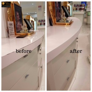 Harrods Counter damages repairs 3