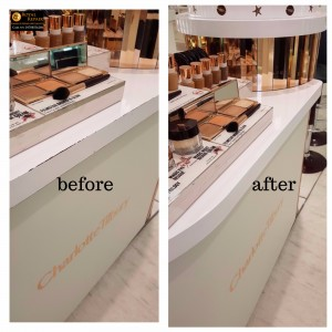 Harrods Counter damages repairs