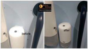 London ips panel holes repair