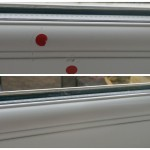 Window frame scratch fix london