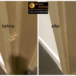 door architrave repair