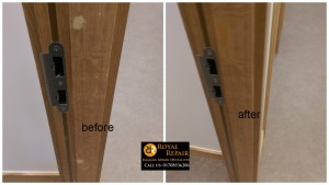 door frame pellets repair