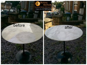 marble table repair