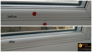 Window-frame-scratch-fix-london