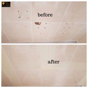 Site Tile Holes repair London and Peterborough