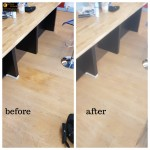 remove wood flooring stain in South East London