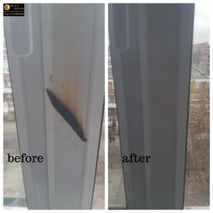 upvc window frame damage repair in Hackney