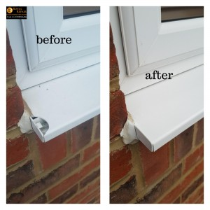 Window sill repair in North West London