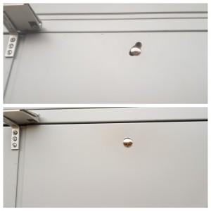 powder coated door repair in South West London