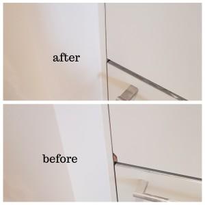 cupboard door chip repair in Mayfair South West London