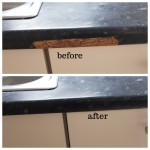 worktop chip repair in north east london