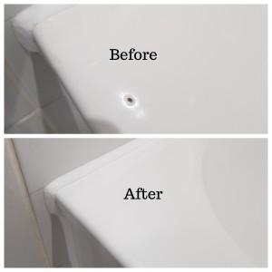 Bath chip repair in South East London
