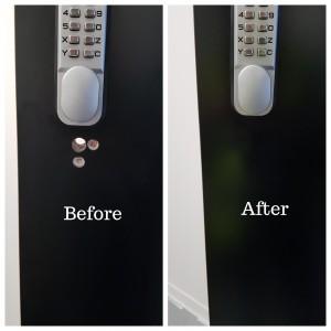 Magicman Door holes repairs