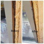Window frame damage repairs in London