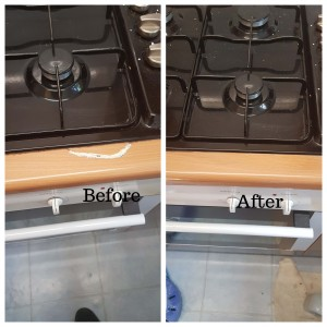Work surface damage repair London