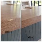 Worktop chip repairs in South East london