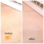 Hardwood flooring dents repairs in Surrey