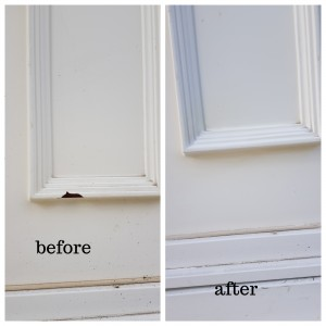 upvc door hole repairs in Cambridge